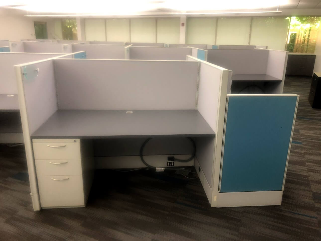 Used Cubicles #103019-SCO1