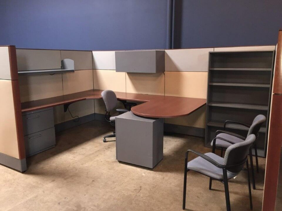 Used Cubicles #051317-RN2