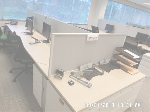Used Cubicles #051317-COF1