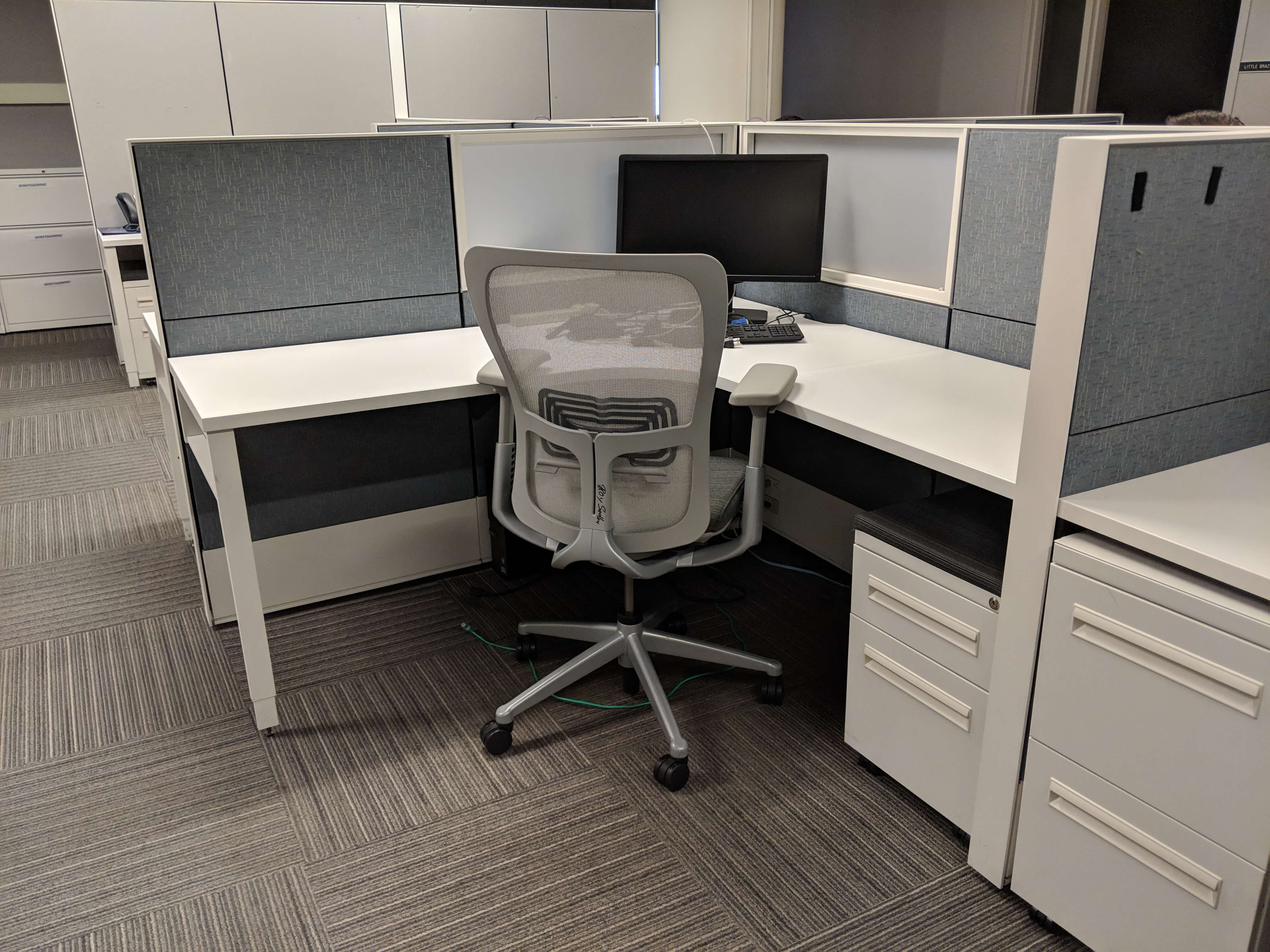 Used Cubicles #012819-OFN1