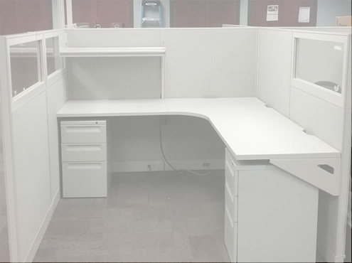 Used Cubicles #061818-DOT1