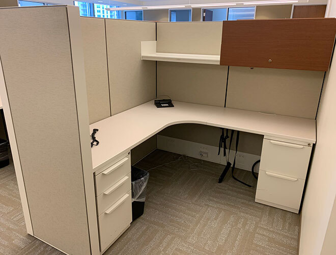 Used Cubicles #121619-AS6