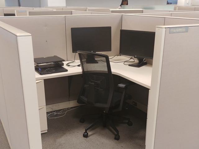 Used Cubicles #013020-Ji1