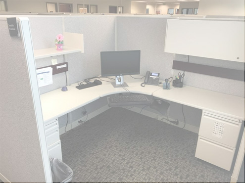 Used Cubicles #112818-PL2