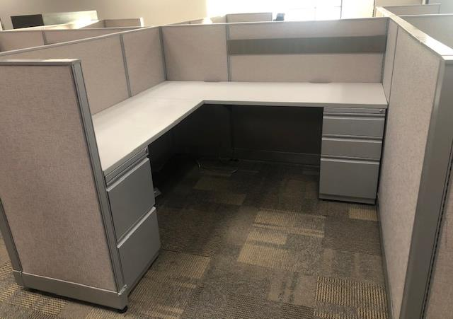 Used Cubicles #012819-BHC4