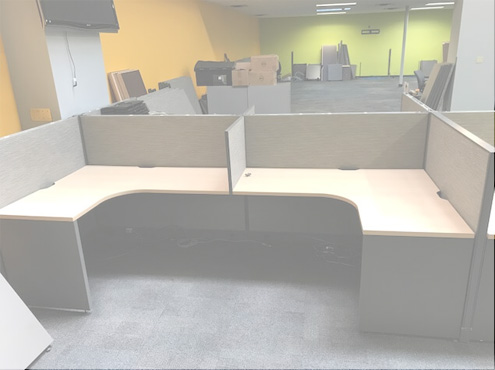 Used Cubicles #053018-DOT2