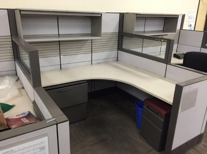 Used Cubicles #041918-CD1