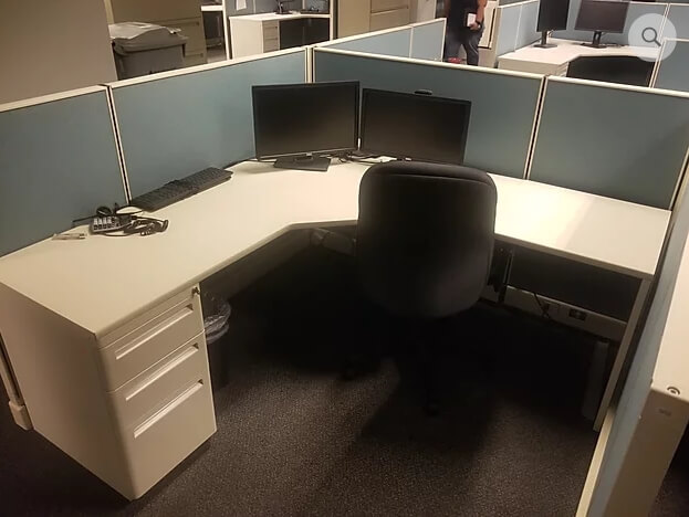 Used Cubicles #121619-JPC1