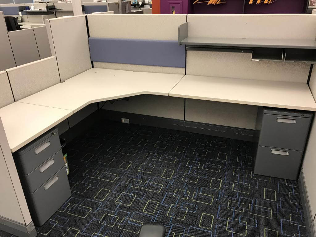 Used Cubicles #022619-PL3