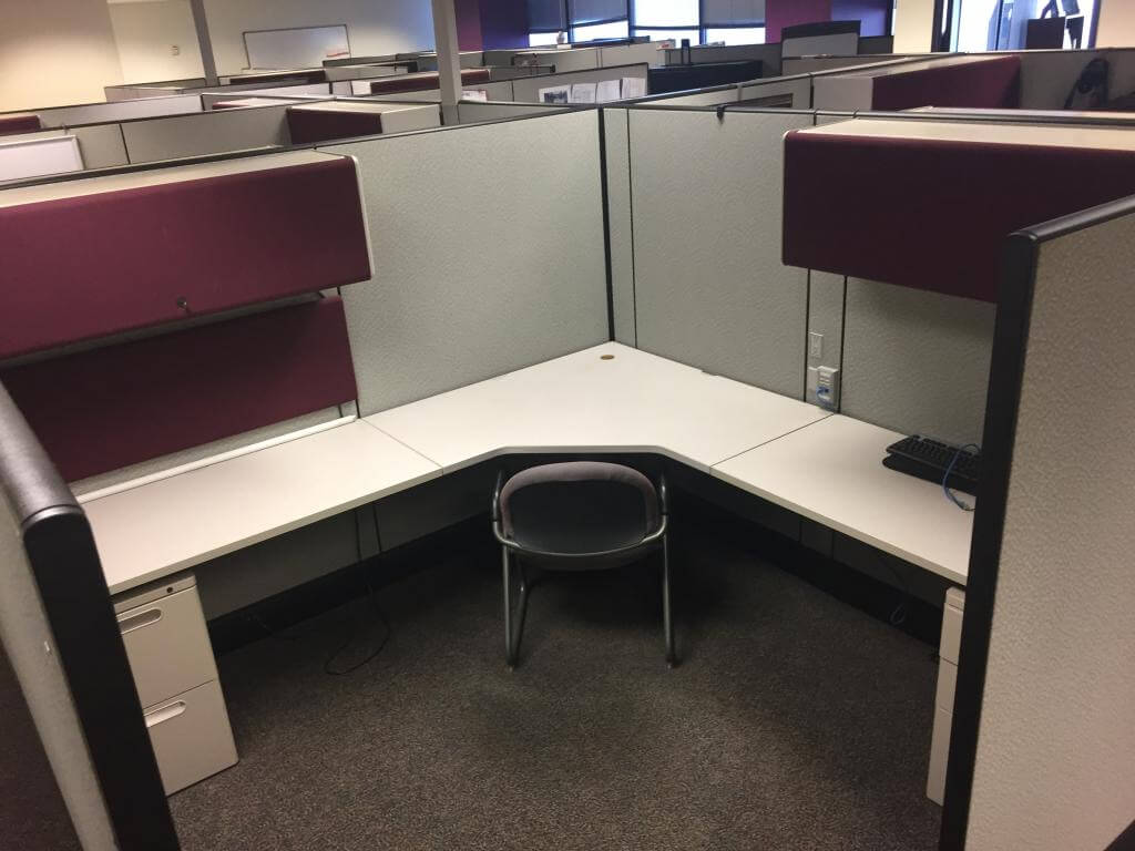 Used Cubicles #011618-COF3