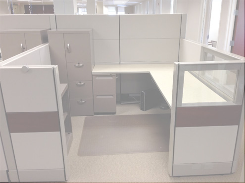 Used Cubicles #053018-ETH1