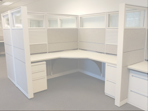 Used Cubicles #022619-HCT1