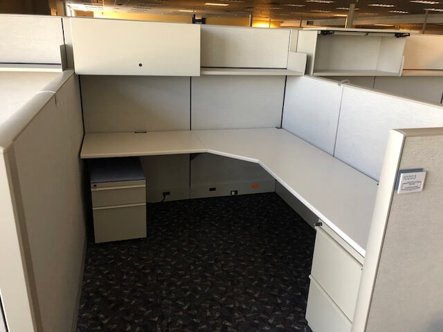 Used Cubicles #041318-BHC1