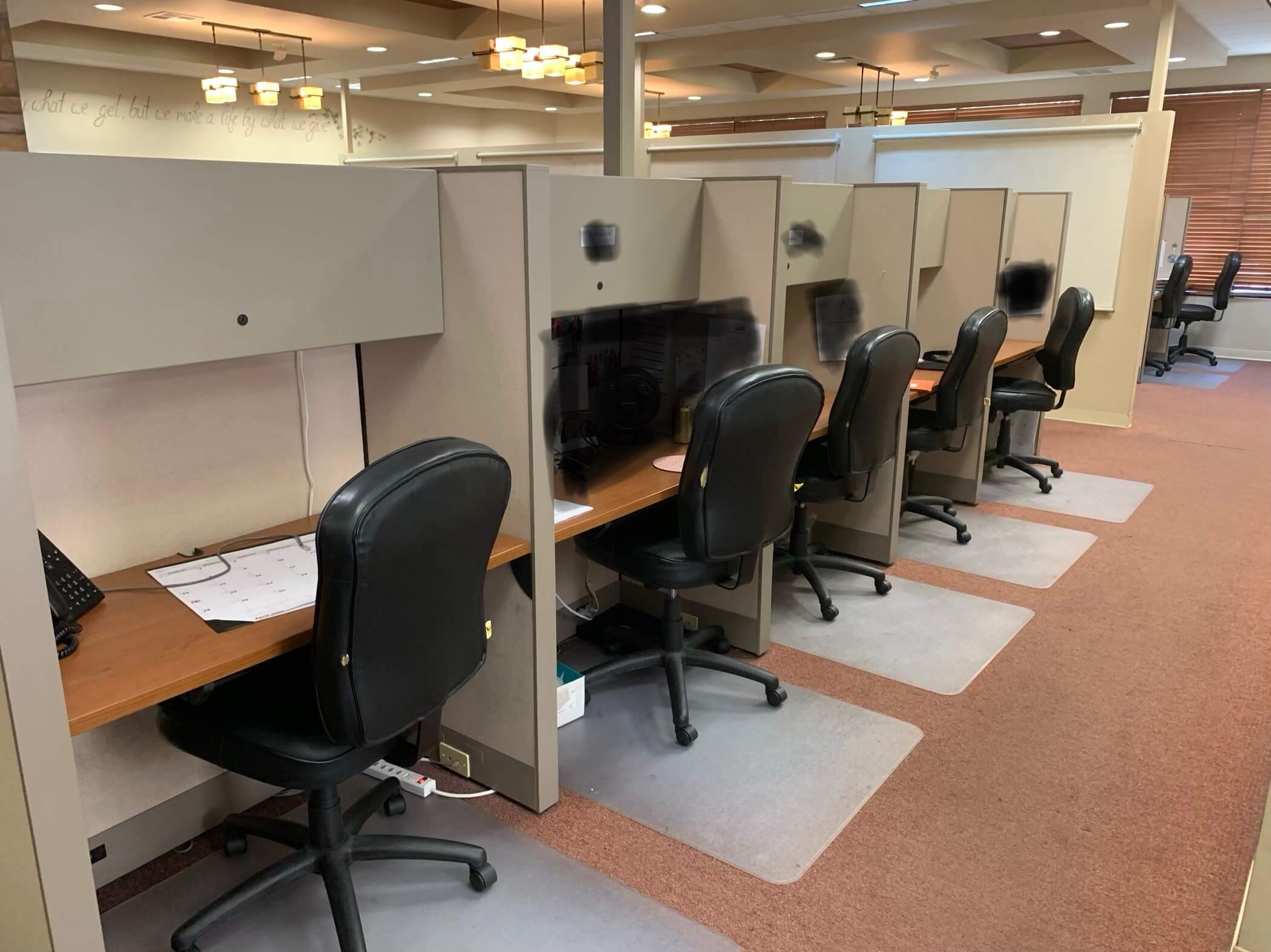 Used Cubicles #072219-HOF1