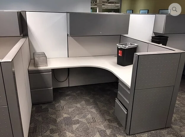 Used Cubicles #103019-JPC2