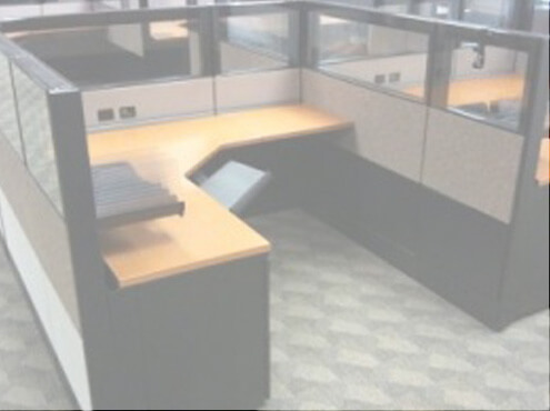 Used Cubicles #031614-1
