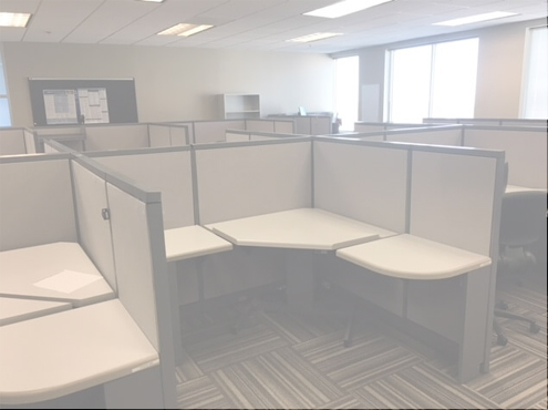 Used Cubicles #030818-CLS2
