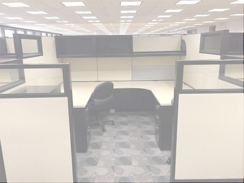 Used Cubicles #112818-PL3