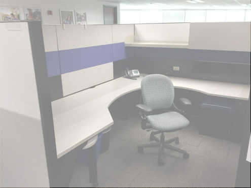 Used Cubicles #011618-COF2