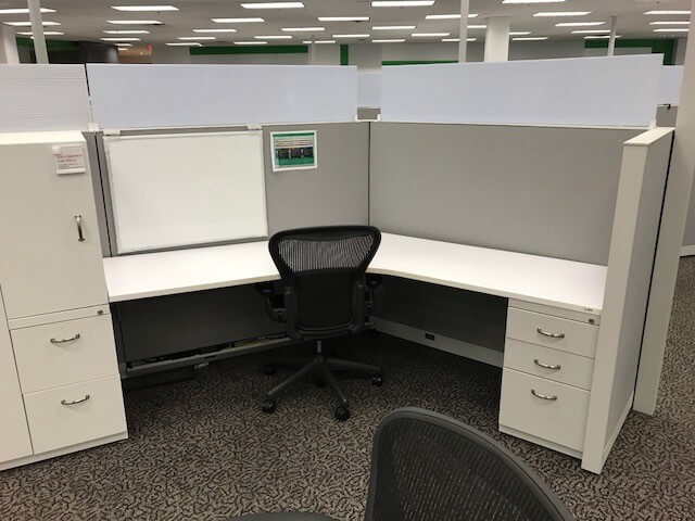 Used Cubicles #021318-PL1