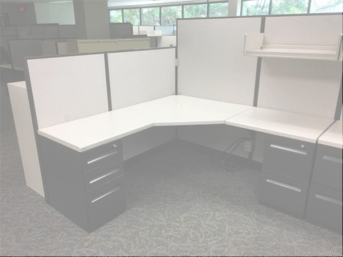 Used Cubicles #030218-CNK2