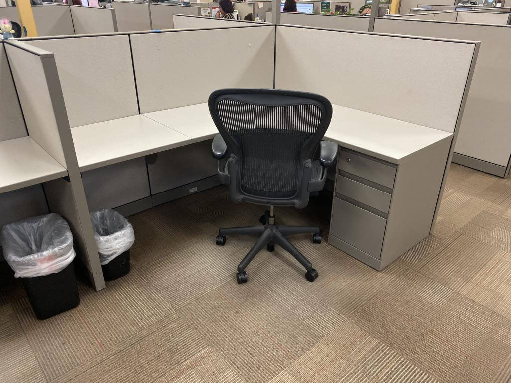 Used Cubicles #013020-PL1