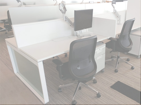 Used Cubicles #100818-HNT2