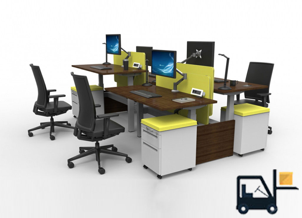 Sit Stand Desks - #RS2-BENCH-4