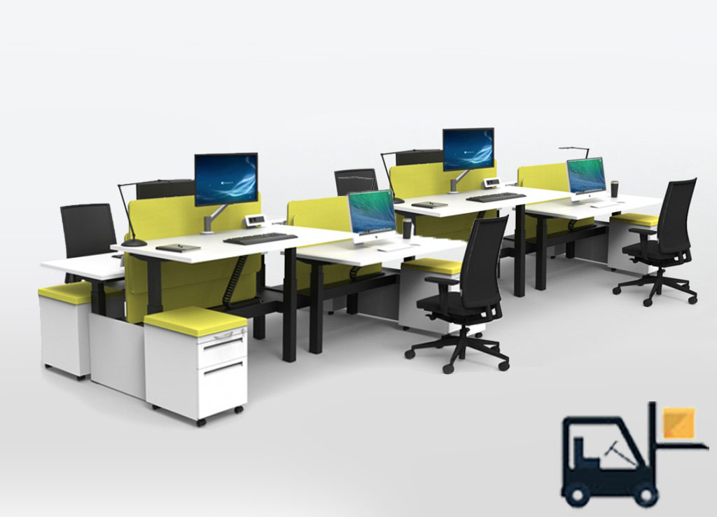 Sit Stand Desks - #RS2-BENCH-8A