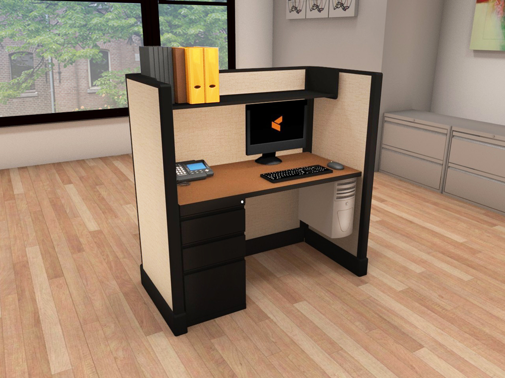 Small Office Cubicles - #2x4x53
