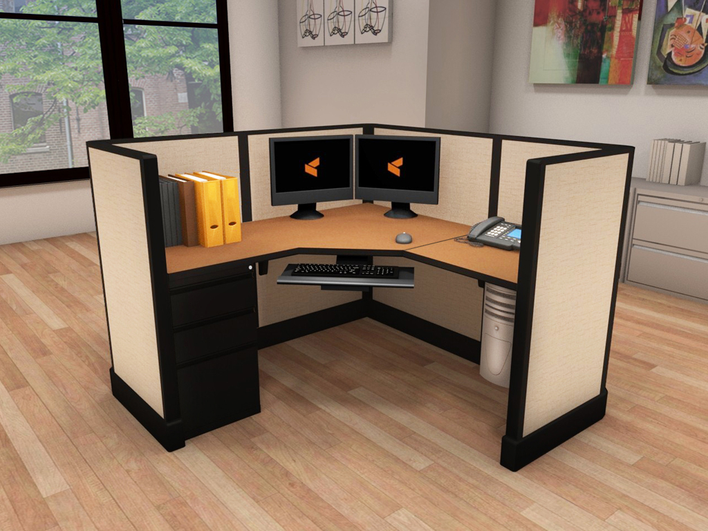 Office Cubicle Furniture - #5x5x47