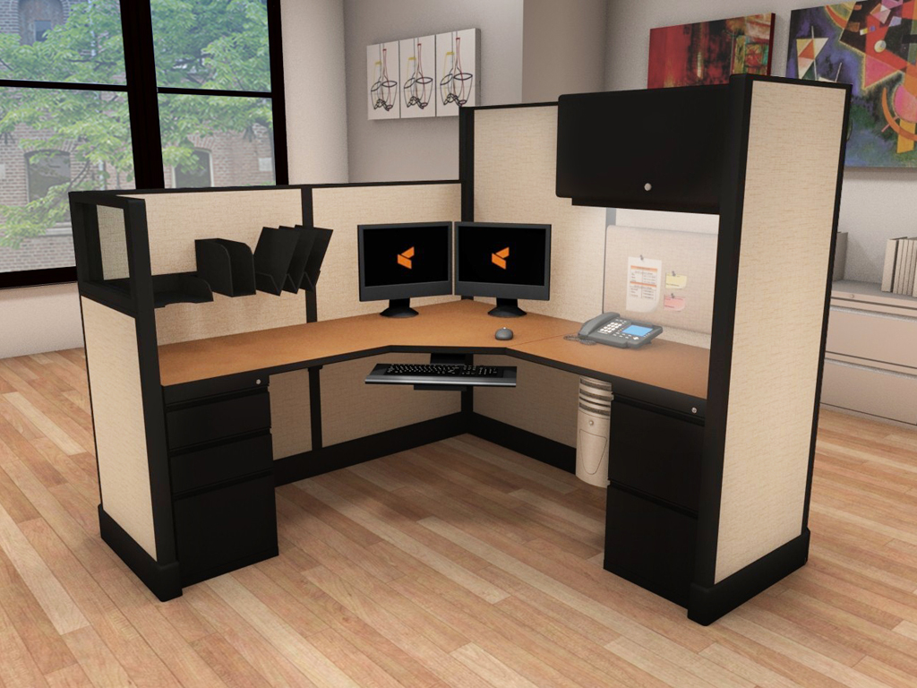 Commercial Grade Office Furniture- #6x6x53-67