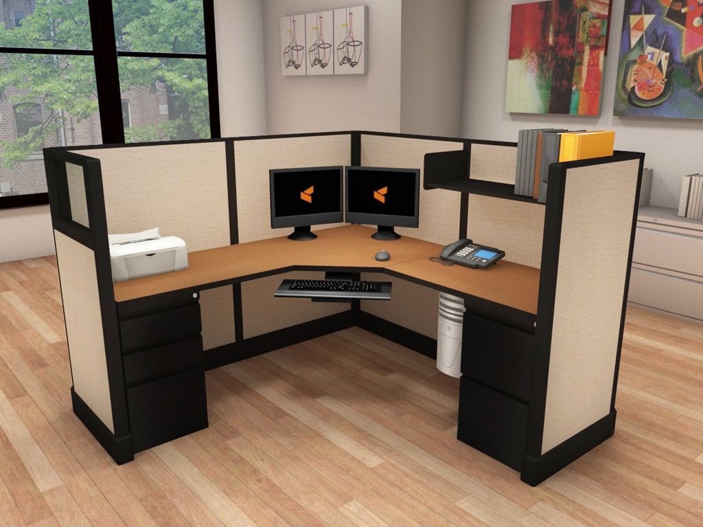 Average Cubicle Size - #6x6x53