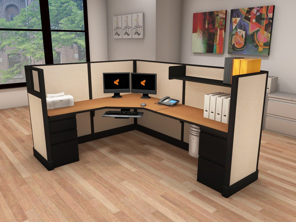 6x8 Cubicle Layout - #6x8x53