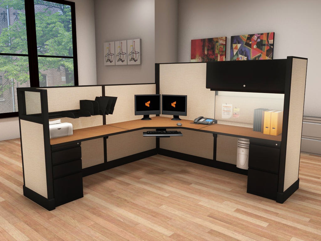 Corporate Office Workstations - #8x8x53-67