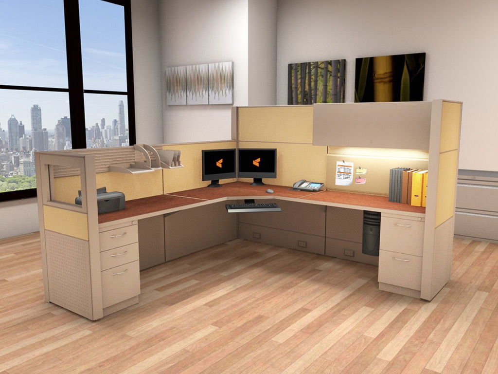 Cubicle Systems - #8x8x66-50