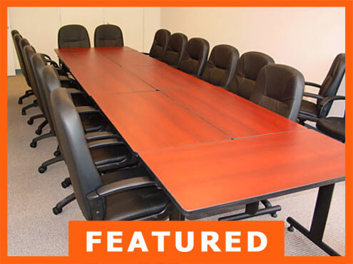 Used Office Furniture For Sale By Cubiclescom - Modular conference table system
