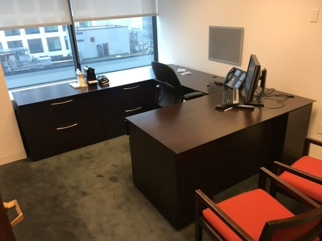 Used Office Desks #052717-CNK4