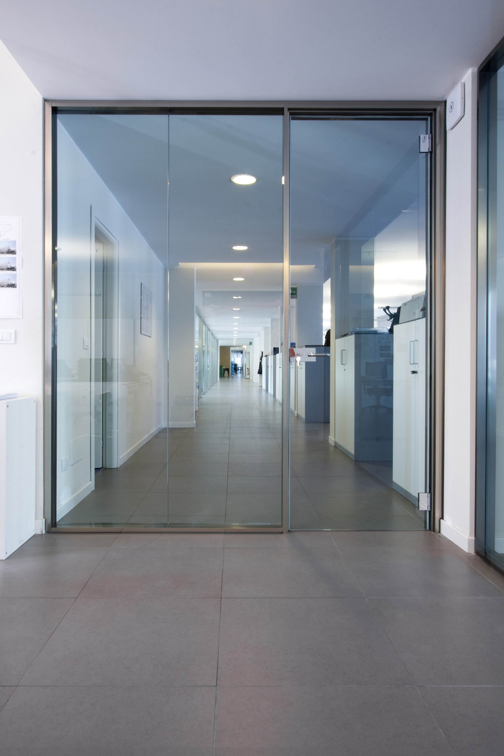 Glass Partition Walls As Door 2