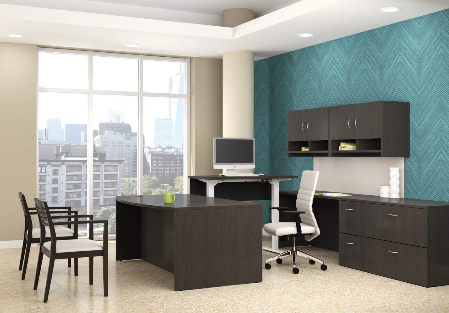 Office Furniture Sets #ef-com18