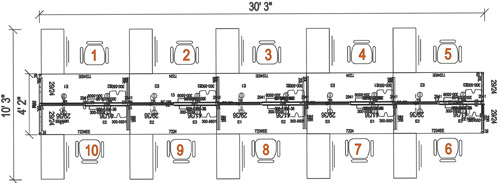 2d office space plan knoll