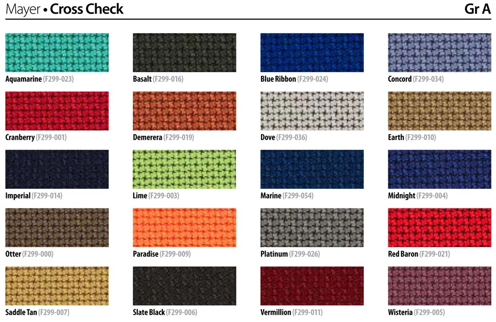 knoll fabrics mayer cross check