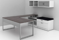 Custom office furniture desks