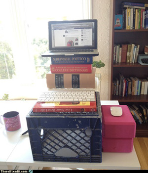DIY Sit & Stand Desks - The Books