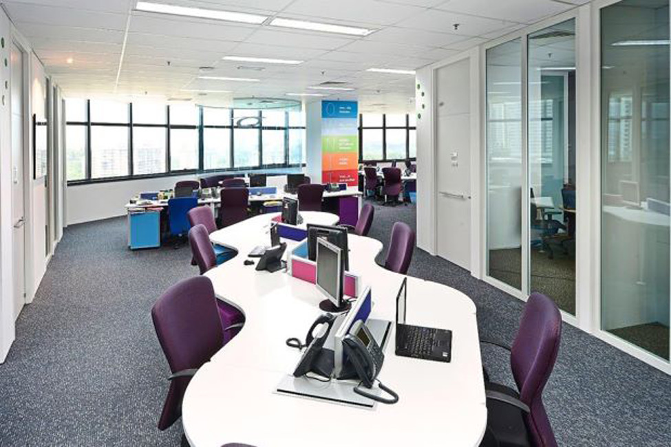 Hot desking at Pfizer Malaysia offices