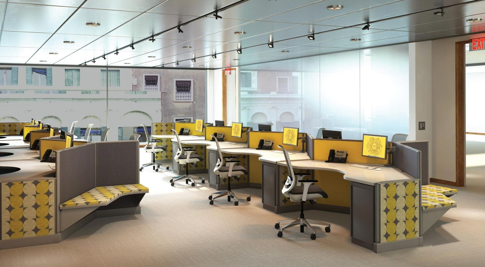 Knoll Cubicles for the Call Center