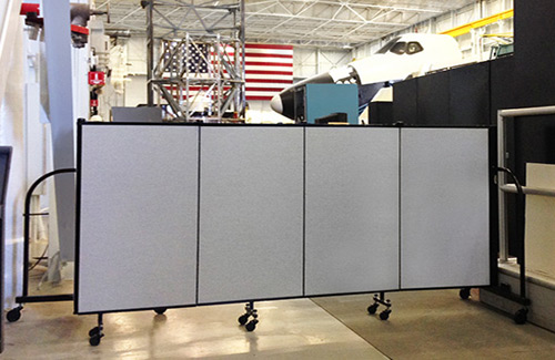 Temp wall panels for government - classified work zones