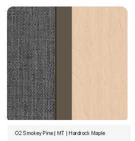 Office Color Palette: O2 Smokey Pine | MT | Hardrock Maple