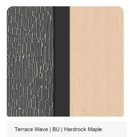 Terrace Wave | BU | Hardrock Maple