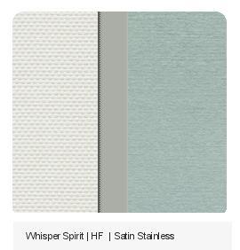 Whisper Spirit | HF | Satin Stainless